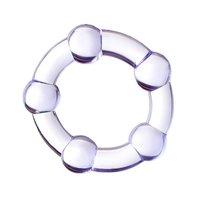 Фиолетовое эрекционное кольцо A-Toys, цвет фиолетовый - Toyfa