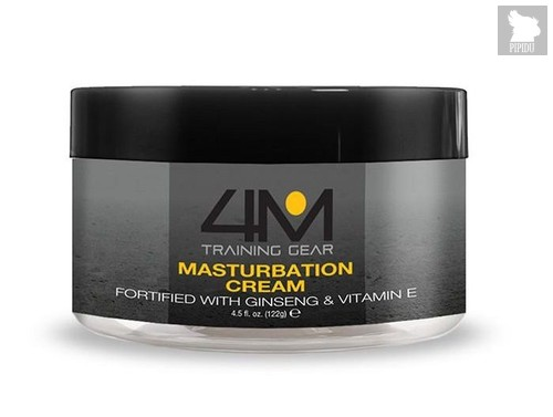 Крем для мастурбации 4M Endurance Masturbation Cream with Ginseng - 120 гр. - Topco Sales