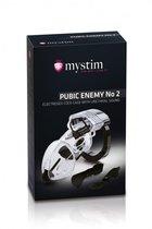 Пояс верности Pubic Enemy №2 с электростимуляцией уретры - Mystim
