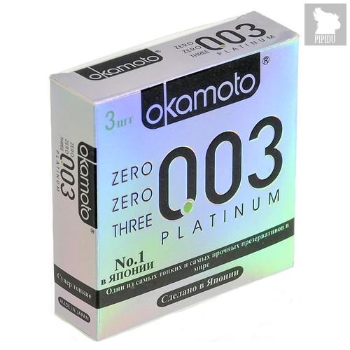 Презервативы Okamoto - Platinum супер тонкие, 18 шт. - Okamoto