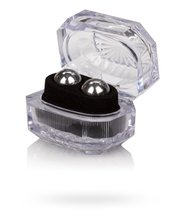 Серебристые вагинальные шарики Silver Balls In Presentation Box, цвет серебряный - California Exotic Novelties