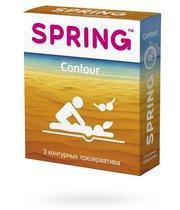 Презервативы Spring Contour контурные, 3 шт. - Spring