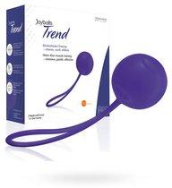 Вагинальный шарик Joyballs Trend Single, цвет фиолетовый - Joy Division