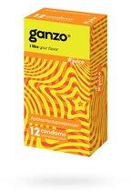 Презервативы Ganzo Juice №3 цветные и ароматизированные, 12 шт. - Ganzo