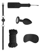 Черный игровой набор Introductory Bondage Kit №5, цвет черный - Shots Media