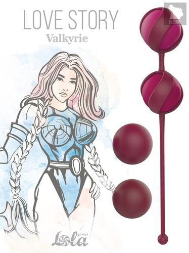 Набор Сменных Вагинальных Шариков Love Story Valkyrie Wine Red 3013-02lola - Lola Toys
