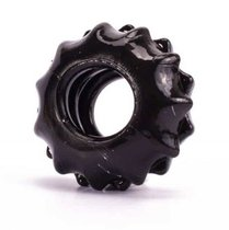 Чёрное эрекционное кольцо POWER PLUS Cockring, цвет черный - LoveToy