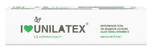 Лубрикант Unilatex Gel Алое вера+Е 82гр 3024Un - Unilatex