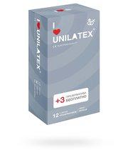 Презервативы Unilatex - Ribbed с кольцами, 12 шт. - Unilatex