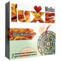 Презервативы Luxe Mini Box Мистика №3 - LUXLITE
