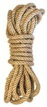 Веревка для связывания Beloved - 5 м., цвет бежевый - Lola Toys