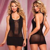 Короткое полупрозрачное платье, S-L - Seven`til Midnight