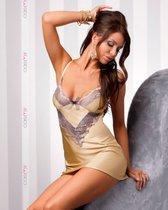Сорочка Vanilla, с трусиками, цвет золотой, S-M - Casmir