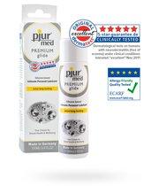 Гипоаллергенный силиконовый лубрикант Pjur MED Premium glide - 100 мл - Pjur
