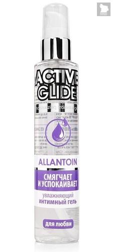 Увлажняющий интимный гель Active Glide Allantoin - 100 гр. - Bioritm