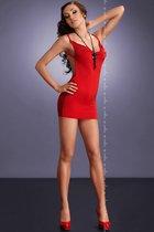 Мини-платье Lara, цвет красный, L-XL - Me Seduce