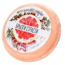 Бомбочка для ванны «Брызги страсти» с ароматом грейпфрута и пачули - 70 г - Toyfa