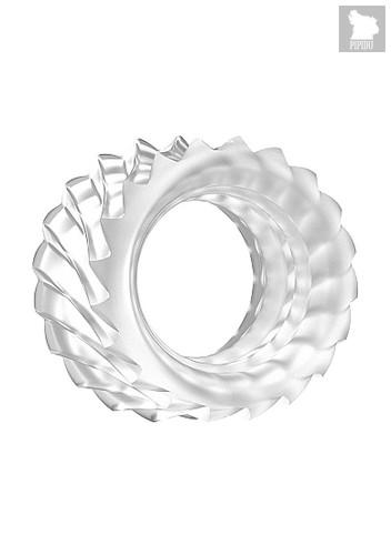 Эрекционное кольцо SONO No40 Translucent SH-SON040TRA, цвет прозрачный - HOT
