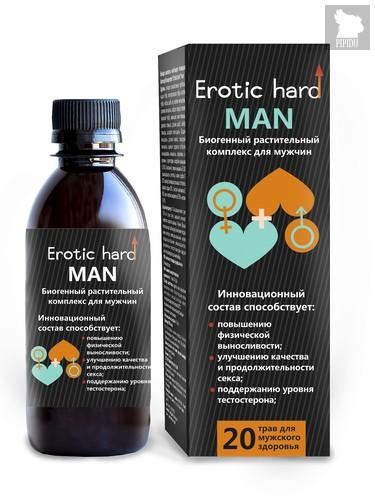 """Мужской Биогенный Концентрат для Усиления Эрекции """"Erotic hard"""" Man 5010Eh - Erotic Hard"""