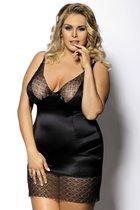 Сорочка Enfia, цвет черный, 3XL-4XL - Gorgeous+