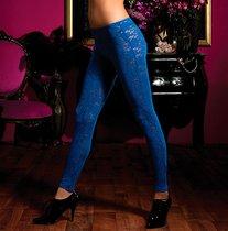 Кружевные леггинсы, цвет синий, S-L - Seven`til Midnight