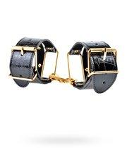 Наручники Fetish Fantasy Gold Cuffs, цвет золотой/черный - Pipedream