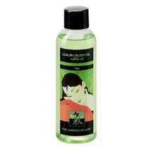 Съедобное массажное масло с ароматом лайма - 100 мл - Shiatsu by HOT