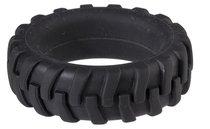 Эрекционное кольцо в форме шины PENIS TIRE, цвет черный - Dream toys
