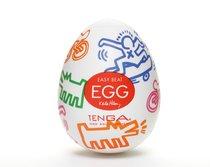 Мастурбатор-яйцо Keith Haring EGG STREET - Tenga