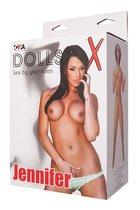 Надувная секс-кукла Jennifer, цвет телесный - Toyfa