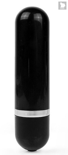 Черная удлиненная вибропуля Erokay - 11 см, цвет черный - Eroplant