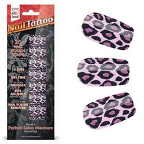 Набор лаковых полосок для ногтей Фиолетовый леопард NAIL FOIL, цвет фиолетовый - Erotic Fantasy