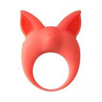 Оранжевое эрекционное кольцо Kitten Kyle, цвет оранжевый - Lola Toys