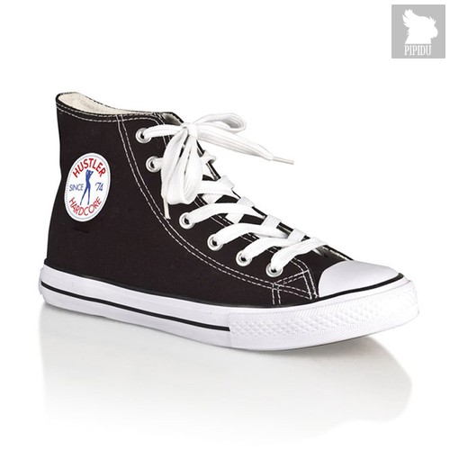 Женские кеды Hustler Classic High Top, цвет черный, 38 - Hustler Shoes