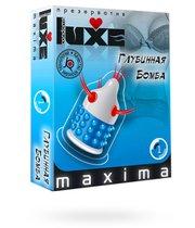 Презерватив LUXE Maxima Глубинная бомба - 1 шт. - LUXLITE