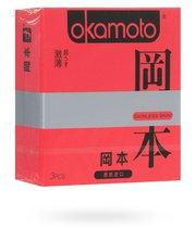 Презервативы Okamoto Skinless Skin Super Thin супертонкие, 3 шт. - Okamoto