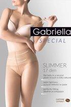 Утягивающие в талии колготы Slimmer 17 den, цвет черный, 4 - Gabriella
