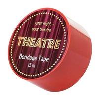 Красный бондажный скотч TOYFA Theatre - 15 м., цвет красный - Toyfa