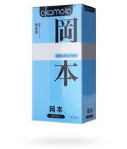 Презервативы Okamoto Skinless Skin Super lubricative c двойной смазкой, 10 шт - Okamoto