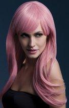 Светло-розовый парик Sienna, цвет розовый - Fever
