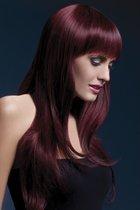 Бордовый парик Sienna, цвет бордовый - Fever