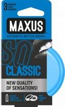 Классические презервативы в железном кейсе MAXUS Classic - 3 шт. - maxus