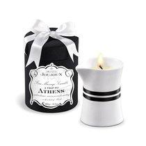 Массажное масло в виде большой свечи Petits Joujoux Athens с ароматом муската и пачули - Mystim