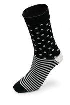 """Носки """"Звездный дождь"""" Размер 36-43, цвет черный - xingfen shenghan socks"""