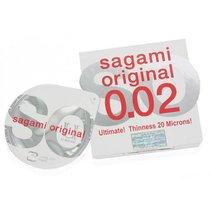 Презервативы Sagami №1 Original 0.02 - 1 уп (1 шт), цвет телесный - Sagami