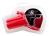 Насадка на член Toyfa Black&Red 901321-9, цвет красный - Toyfa