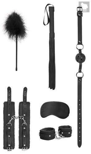 Черный игровой набор Beginners Bondage Kit, цвет черный - Shots Media