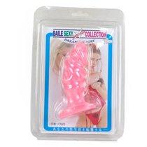 Анальная пробка-фаллос розовый - Baile