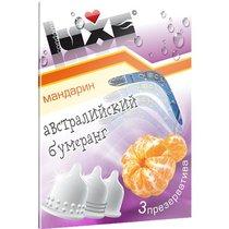 Презервативы Luxe Австралийский Бумеранг с ароматом мандарина - 3 шт. - LUXLITE
