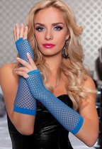Перчатки Elbow Fishnet Gloves, OS - Seven`til Midnight